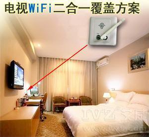 酒店有线电视WiFi二合一方案